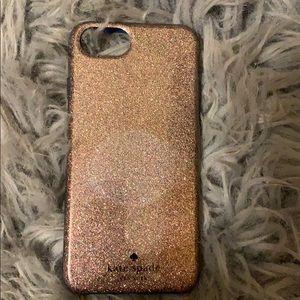 Glitter Kate Spade iPhone 7 case